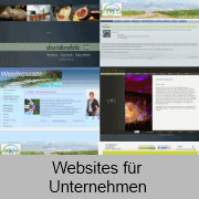 Marketing orientierte Websites mit Websites von Worldsoft